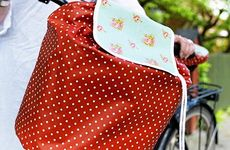 Gör ett regnskydd till cykelkorgen