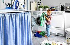 Ny tvättstuga med enkla medel