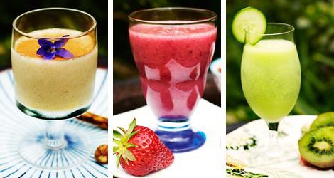 Njut av en fruktig smoothie