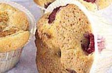 Hallonmuffins