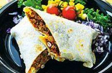 Burritos med köttfärs och bönor