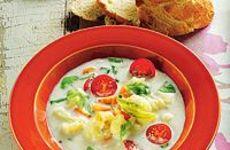Ängamat, redd grönsakssoppa
