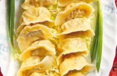 Dumplings med färsfyllning