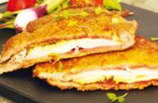 Rolfs lyxiga schnitzel med ost och skinka