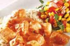 Kycklinggryta med tomat och basilika
