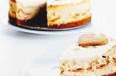 Cheesecake med pepparkakor