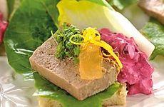 Smørrebrød med leverpastej