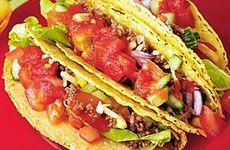 Tacos med hemmagjord krydda