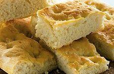 Focaccia bröd i långpanna