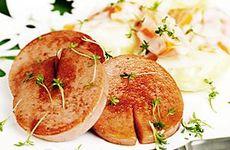 Stekt falukorv med stuvad potatis