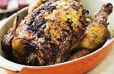 Kyckling i ugn med rosmarin och citron