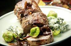 Köttfärslimpa med trattkantareller