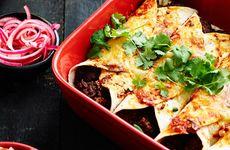 Enchilada  med chilifyllning