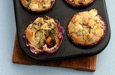 Matmuffins med tomat och grönkål
