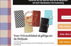 Nu backar företagen om sina giftiga mobilskal