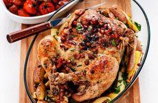 Helgens mat: Hel kyckling med salvia