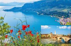 Följ med oss på en resa till Gardasjön och Verona