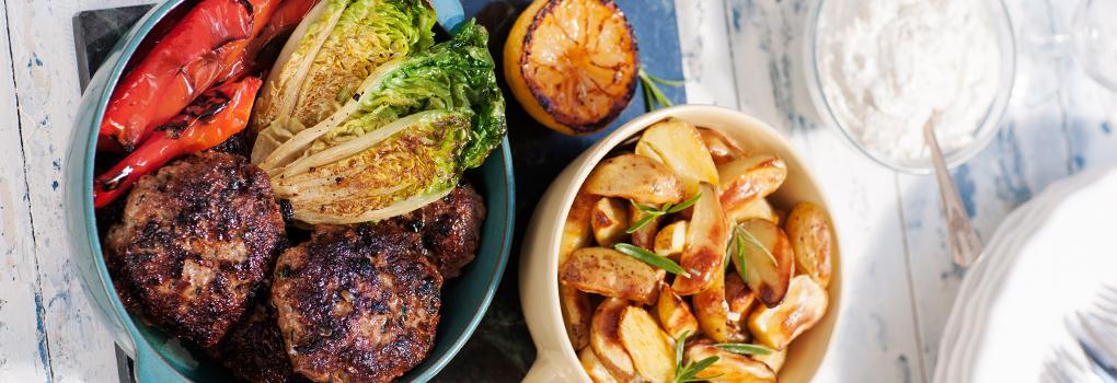 Helgens mat: Grekiska smaker på grillen