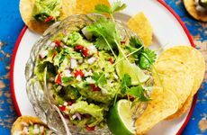 Guacamole med nachos