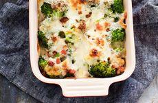 Broccoligratäng med pancetta