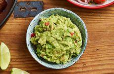 Guacamole med rödlök