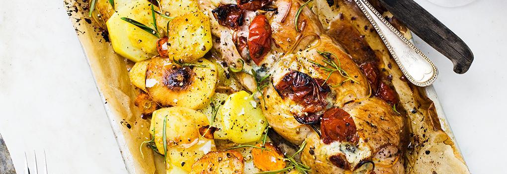 Helgens mat: Gorgonzolafylld fläskfilé