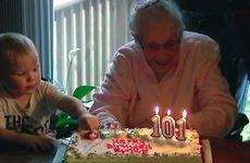 """101-åringens bästa tips för ett långt liv: """"Ät choklad varje dag"""""""