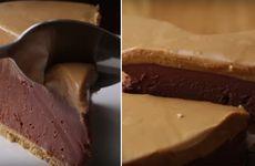 Video: Baka supersmaskig cheesecake med choklad och jordnötssmör