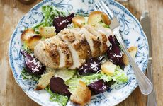 Kycklingsallad med parmesan