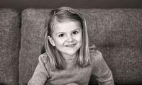 Nya födelsedagsbilder: Grattis Estelle, 5 år idag